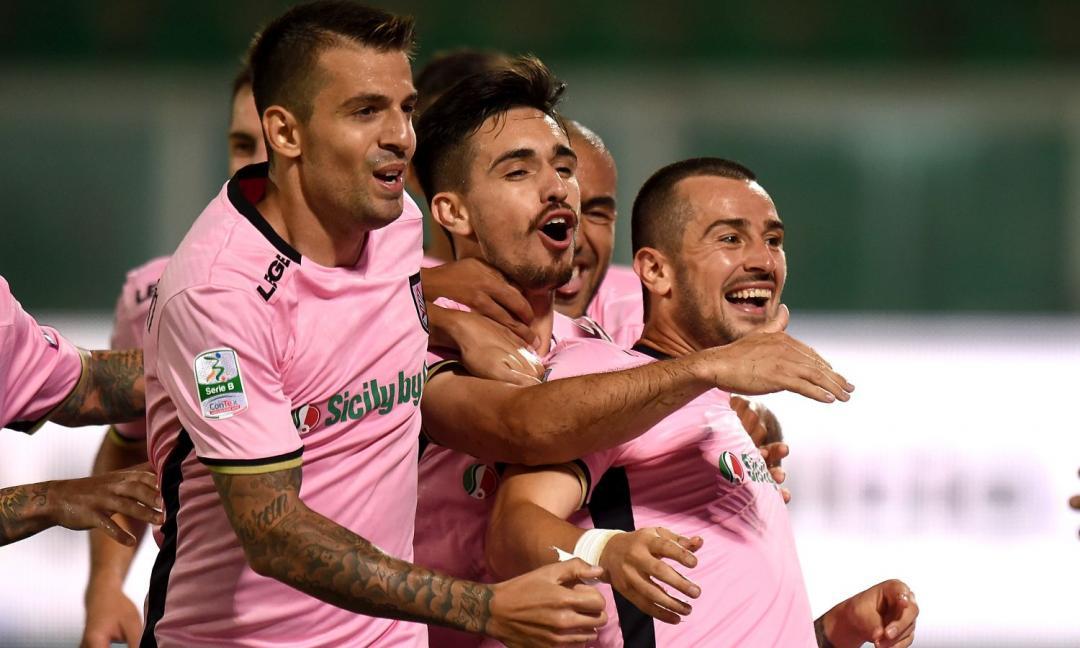 Serie B: il Palermo ribalta il Frosinone, 2-1 nell'andata della finale playoff