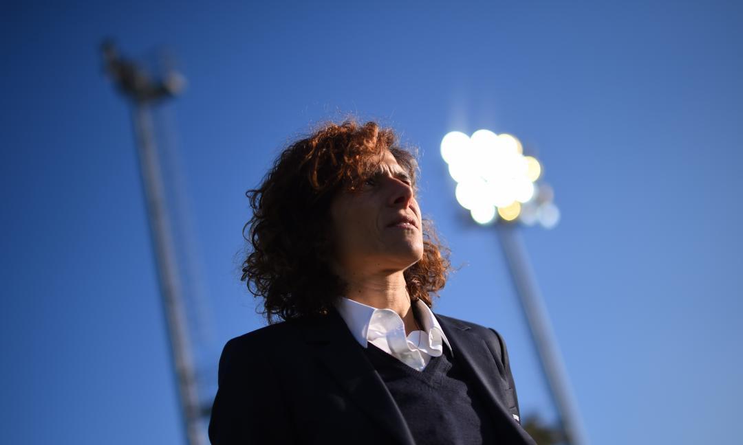 Juve Women, al lavoro senza le nazionali: le FOTO di coach Guarino palla al piede