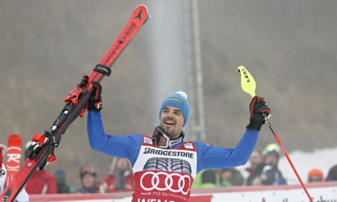 Un 'bianconero' vincente: la Juve esalta lo sciatore Peter Fill