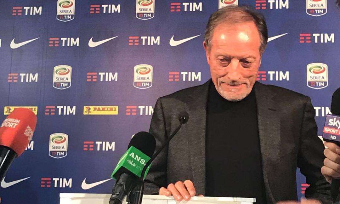 Lega Serie A, Ulivieri: 'Per la Figc ho proposto Veltroni'