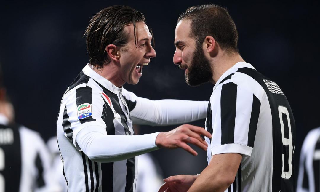 Higuain buono e cattivo, Berna da Juve, Marchisio non è lui