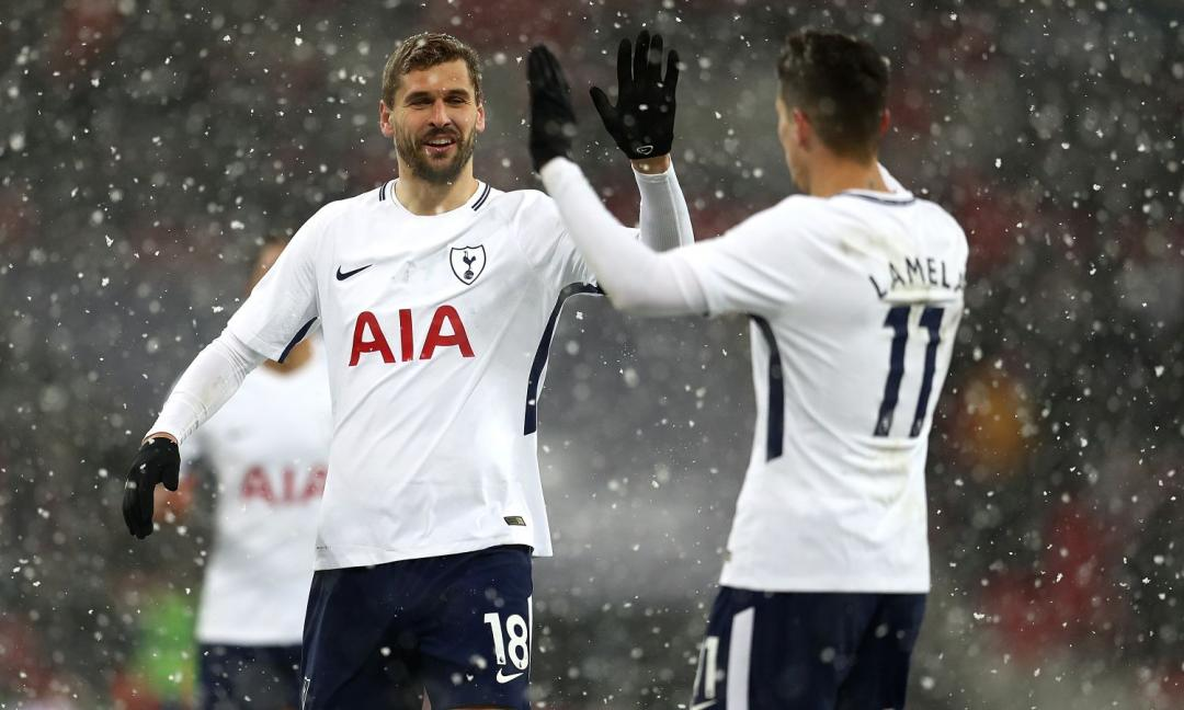 Il Tottenham travolge il Borussia: segna anche Llorente