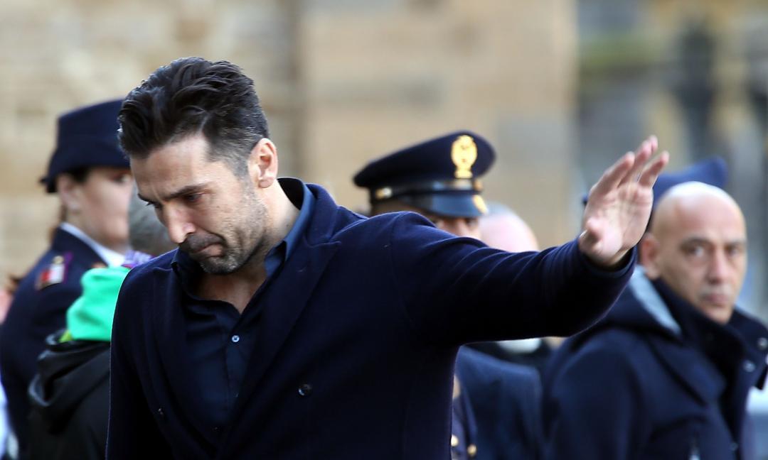 Buffon ringrazia Firenze: 'Quell'applauso mi ha riempito il cuore'