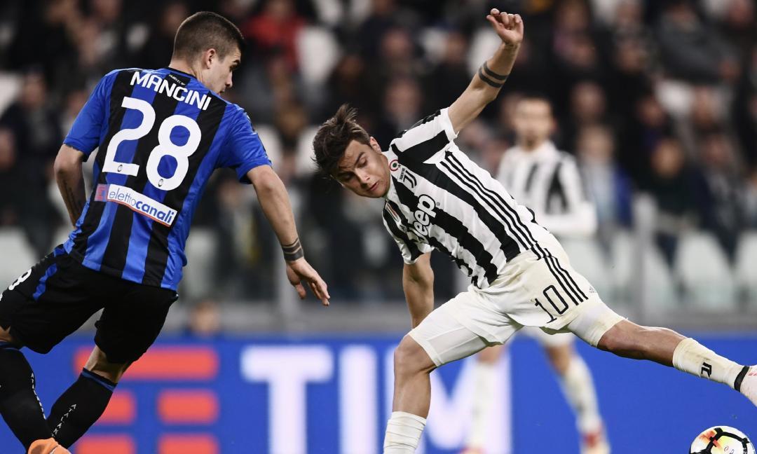 Juventus-Atalanta 2-0, il tabellino