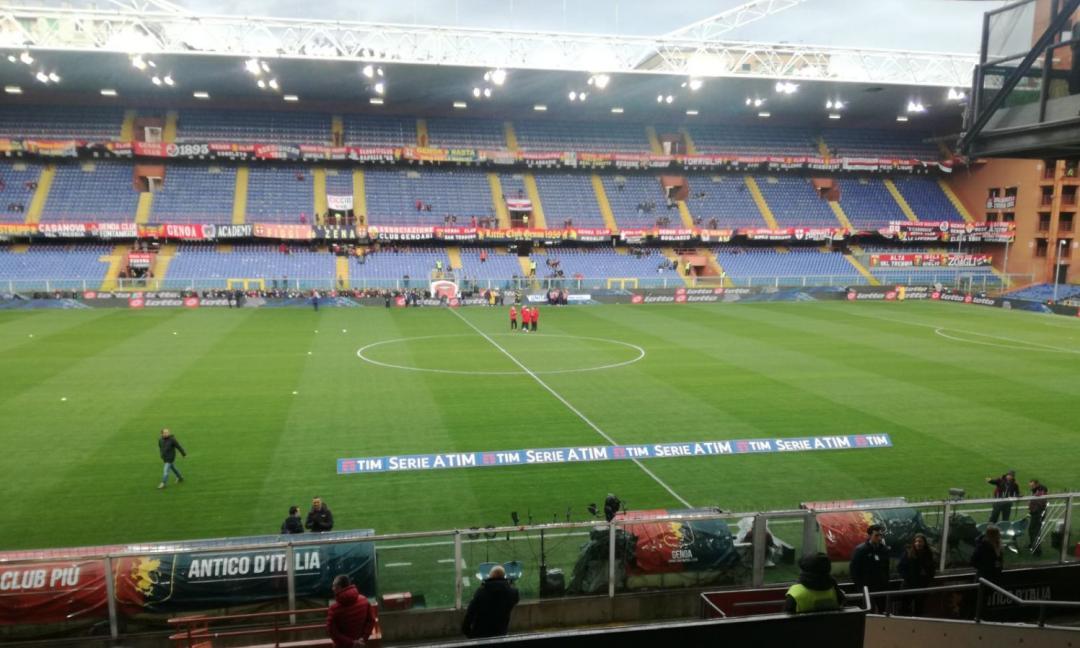 Genoa-Juve: osservatori di Ajax e Manchester United a Marassi