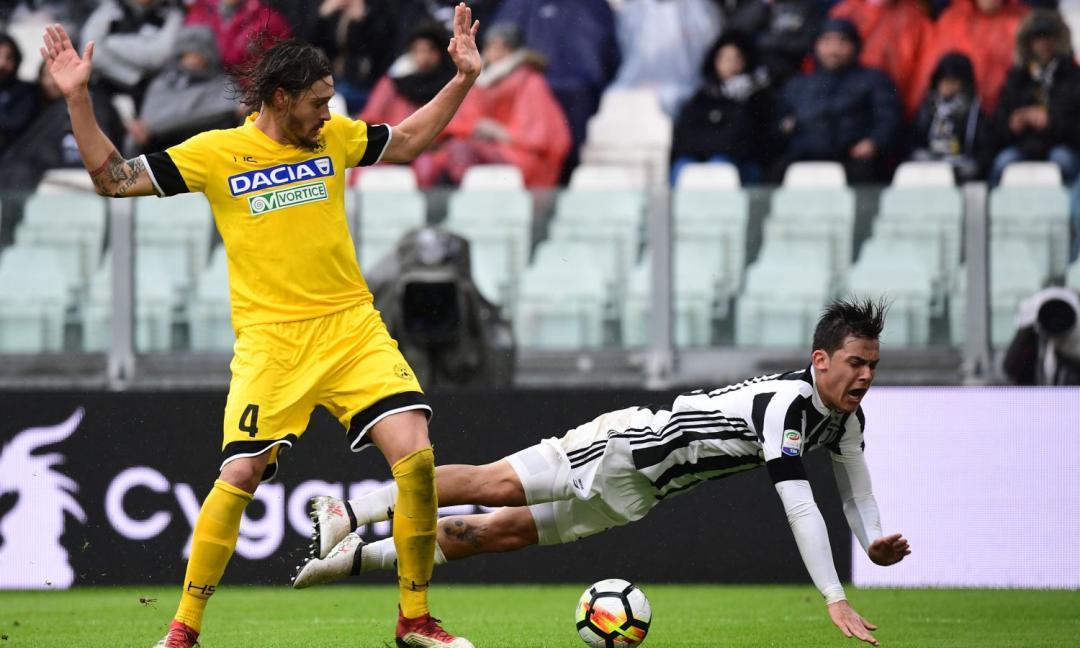 Udinese-Juve: dove vederla in streaming e tv