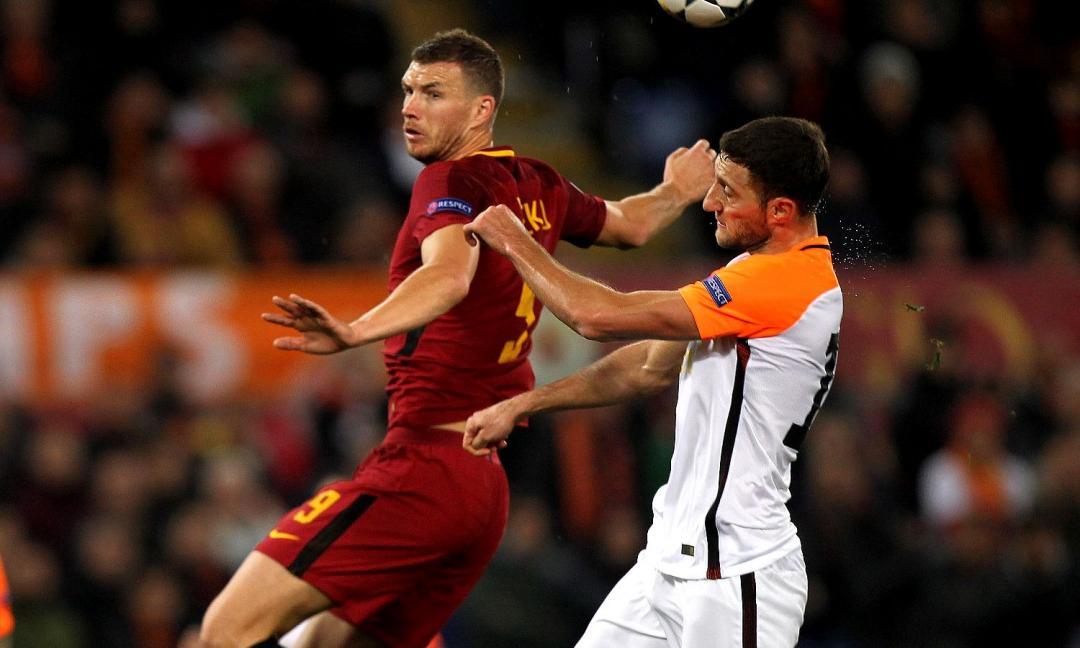 Champions League: Roma ai quarti, decide un guizzo di Dzeko