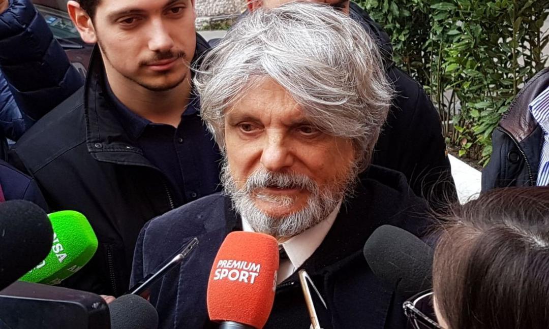 Sampdoria, Ferrero: 'Andersen? Ne vendo uno, ne prendo tre'