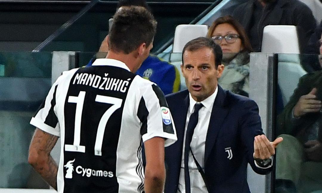 Allegri sceglie: Mandzukic riserva di Dybala e Douglas Costa. Sono gli ultimi mesi di Juve?