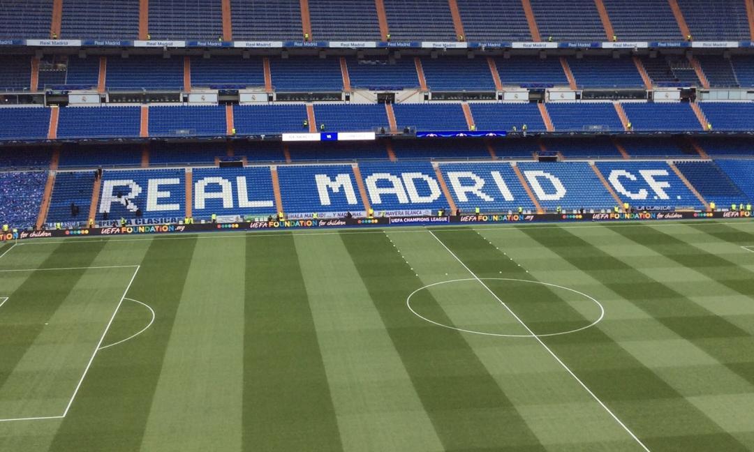 Coronavirus, il Real Madrid ha offerto il Bernabeu