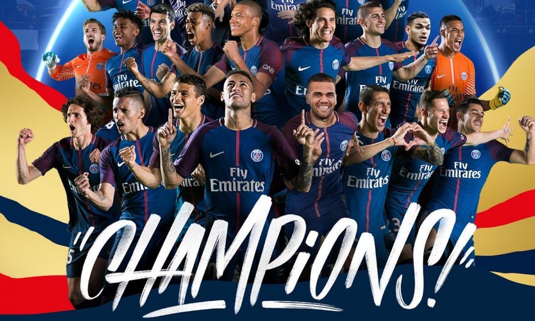 Il PSG distrugge il Monaco per 7-1 e si laurea campione di Francia