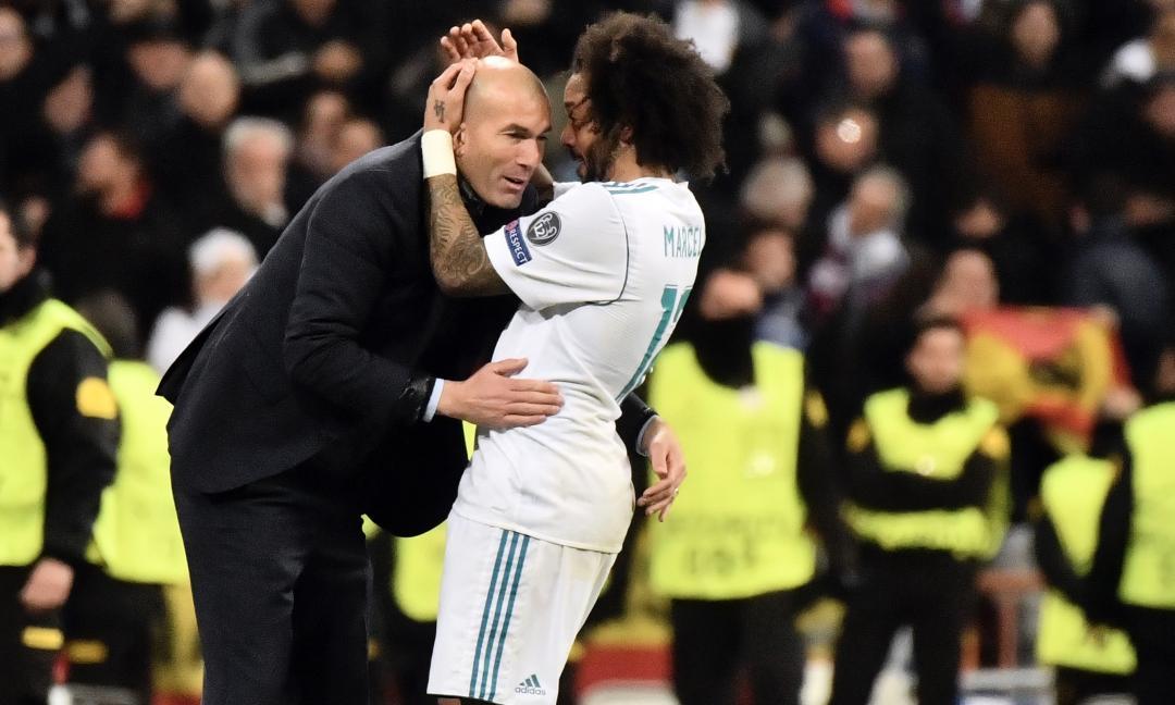 Marcelo: 'Ho dato la vita per Zidane!'