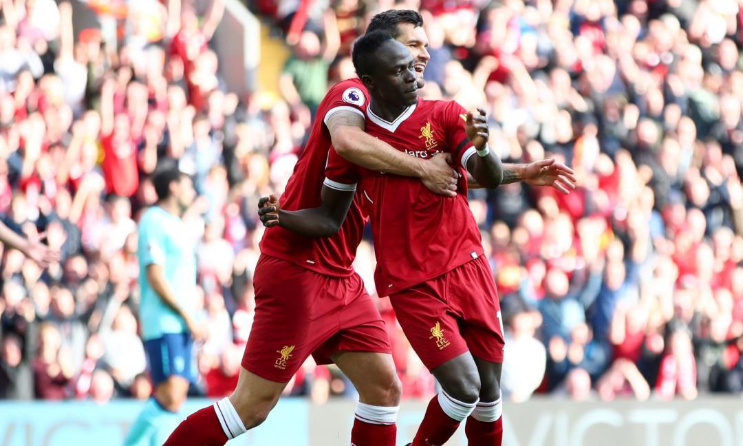 Premier: poker del Liverpool, City sul velluto contro l'Arsenal