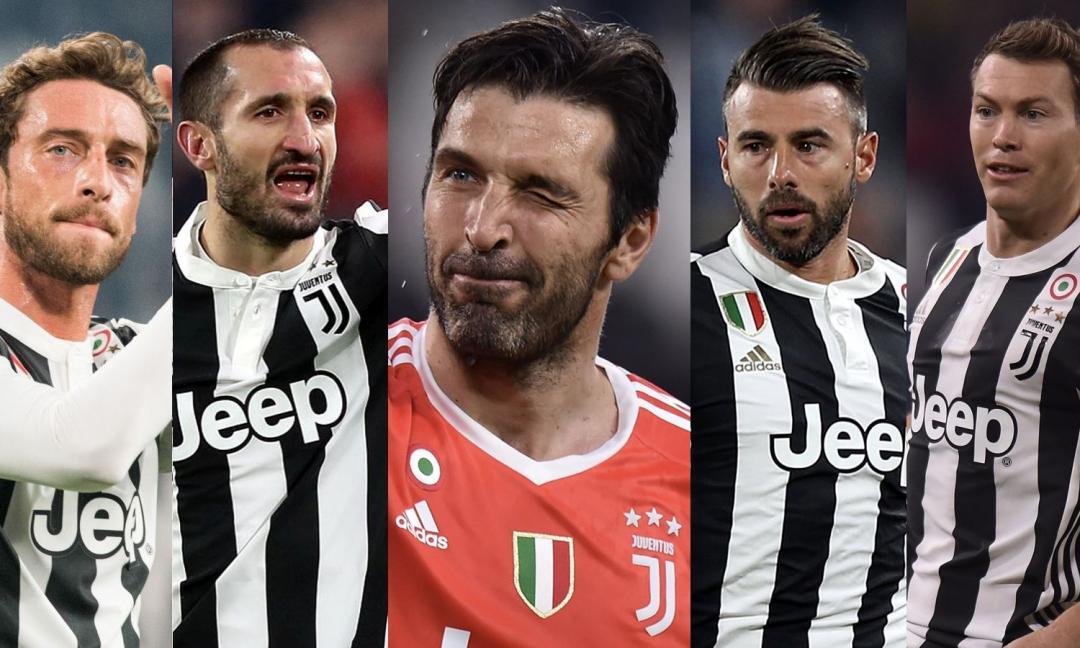 Buffon e i cinque da leggenda di questi sette scudetti: quale futuro?