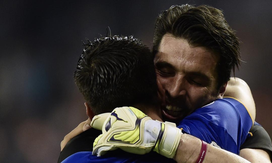 Morata saluta Buffon, i tifosi gli chiedono di tornare alla Juve FOTO