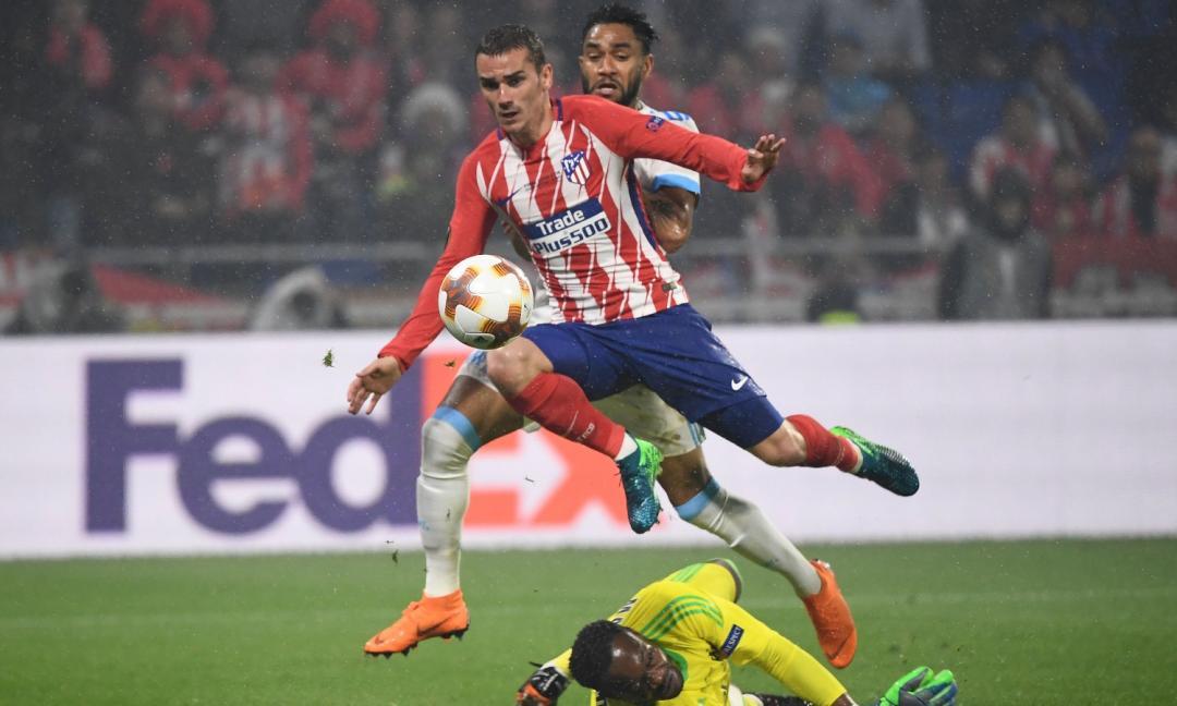 Griezmann da paura: l'Atletico vince l'Europa League