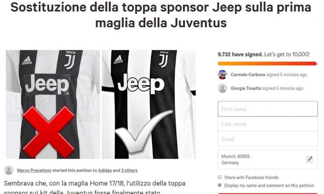 Juve, petizione dei tifosi per la maglia 2018/19. Spunta una 'nuova' versione FOTO