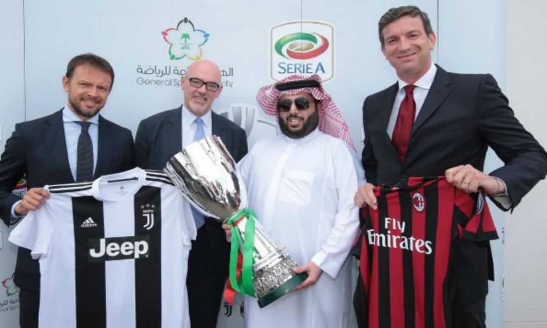 Supercoppa, il sindacato dei giornalisti Rai: no a Juve-Milan a Gedda