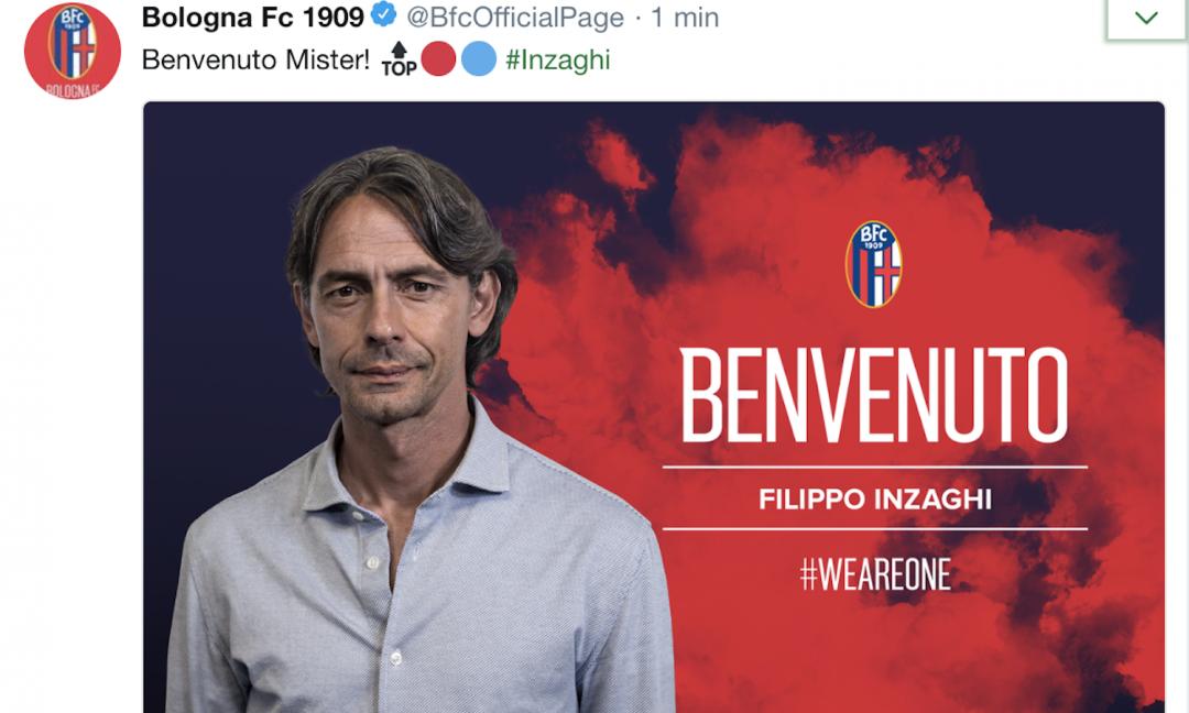 UFFICIALE Bologna, inizia l'era Inzaghi: ecco quanto guadagnerà