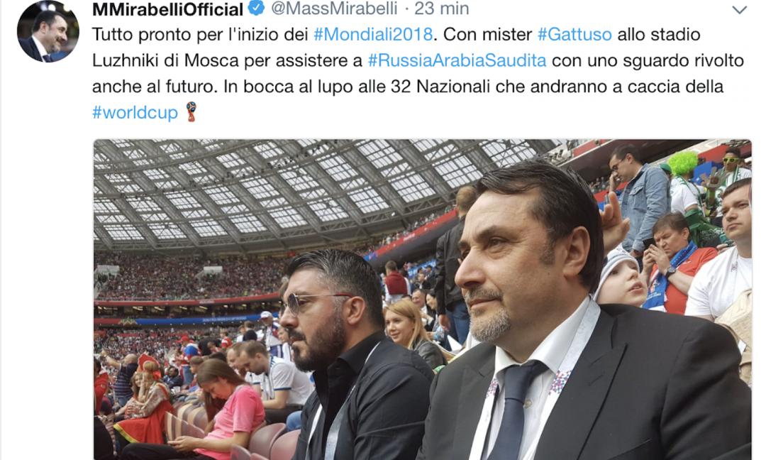 Gattuso e Mirabelli, occhi sulla Russia: nel mirino anche un obiettivo Juve?