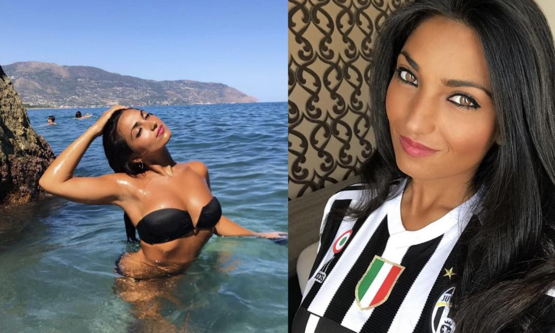 Sabrina, è bianconera la tifosa che scalda la Sicilia! FOTO