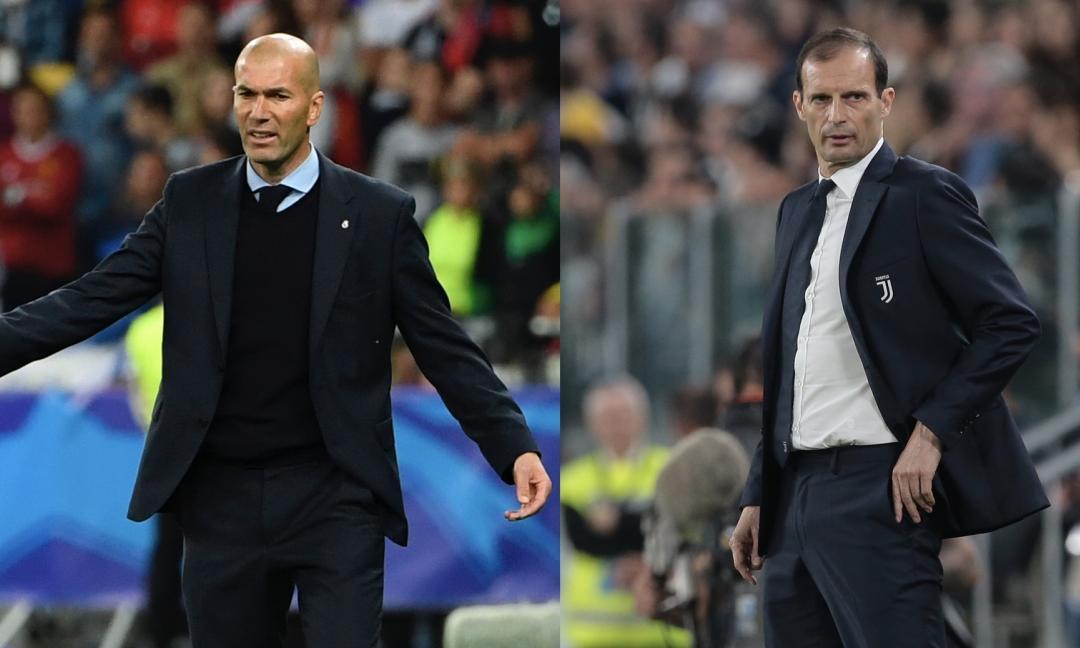 Dalla Spagna: 'Il Real Madrid ha scelto Allegri, Zidane alla Juve'