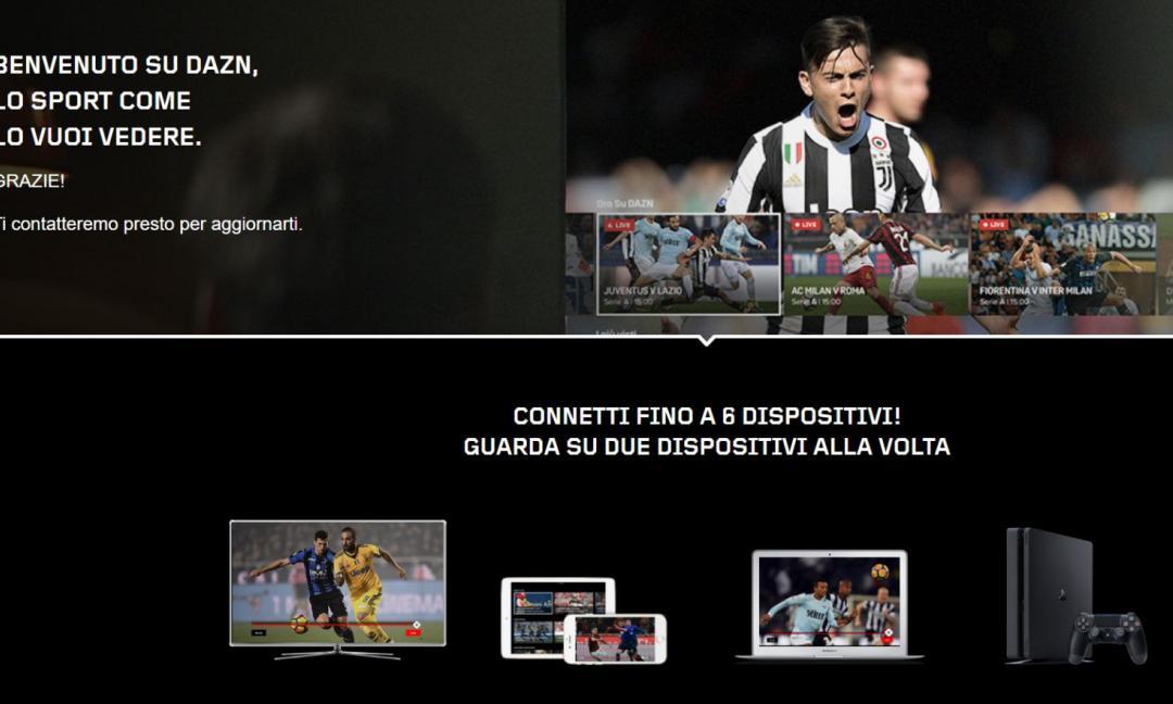 DAZN, ecco la rivoluzione: Serie A a 9,99 € e puoi disdire quando vuoi
