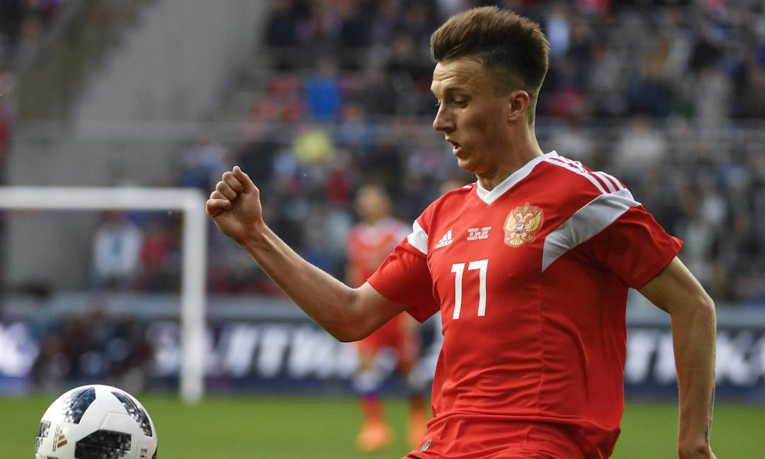 Golovin mondiale: due assist e gol 'alla Pjanic' sotto gli occhi della Juve