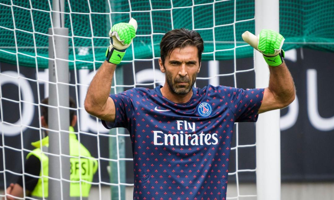 PSG, Buffon in gran forma in allenamento VIDEO | ilbianconero.com