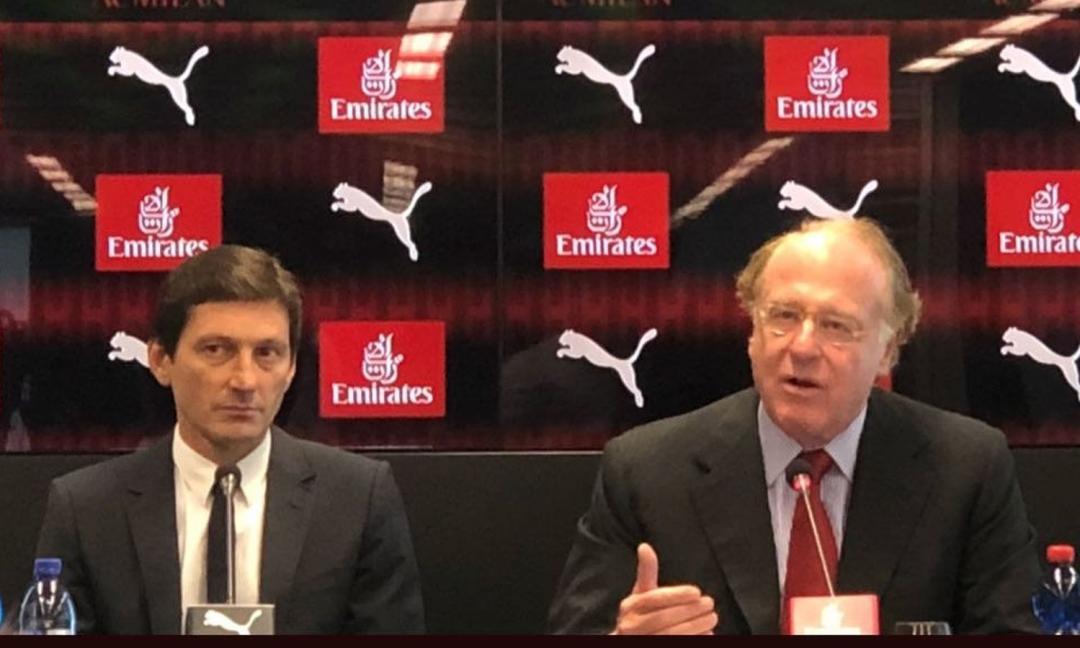 Milan, Scaroni: 'Juve? Da presidente soffro troppo. Higuain, mi auguro giochi'