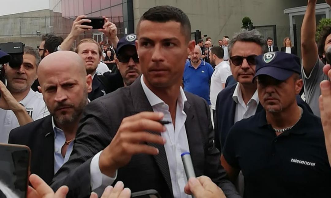 Ronaldo, prima pizza a Torino! 'E' stato emozionante'
