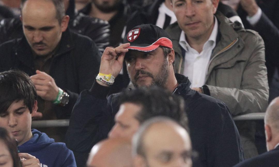 Salvini: 'Ronaldo alla Juve? Posso solo rosicare. Sullo sciopero di Melfi...'