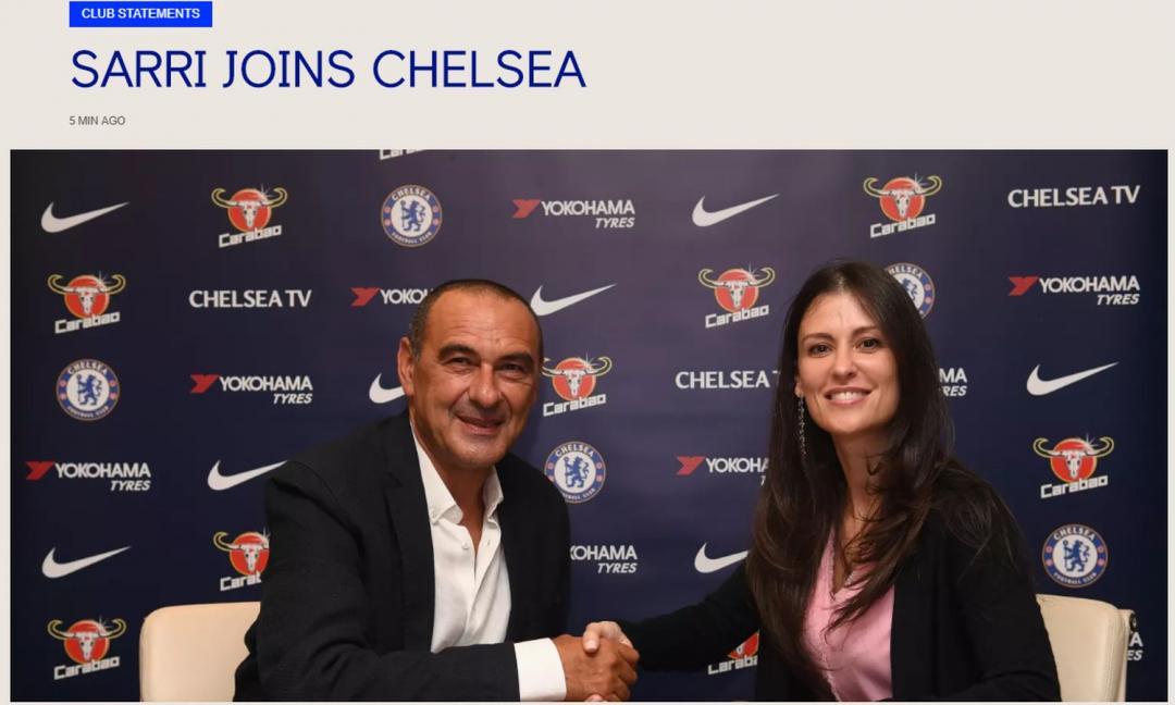 UFFICIALE: Sarri firma con il Chelsea, parte l'assalto a Rugani e Higuain