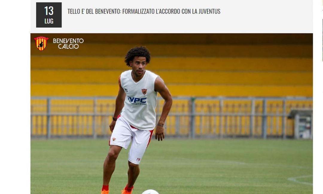 UFFICIALE: la Juve cede Tello a titolo definitivo