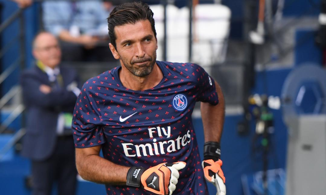 Ligue 1: tris del PSG al Caen, clean sheet per Buffon all'esordio