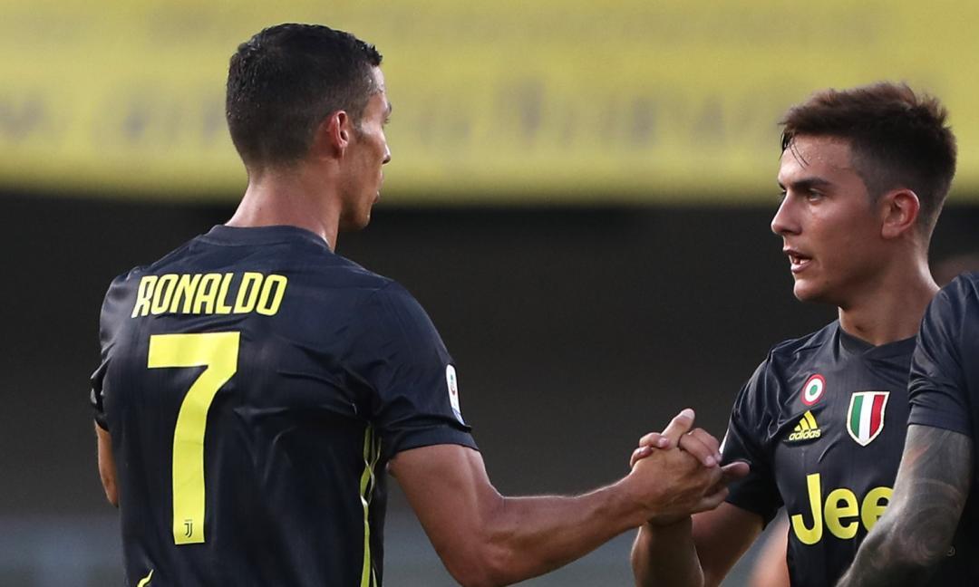 Verso Juve-Sassuolo: Dybala titolare con Ronaldo?