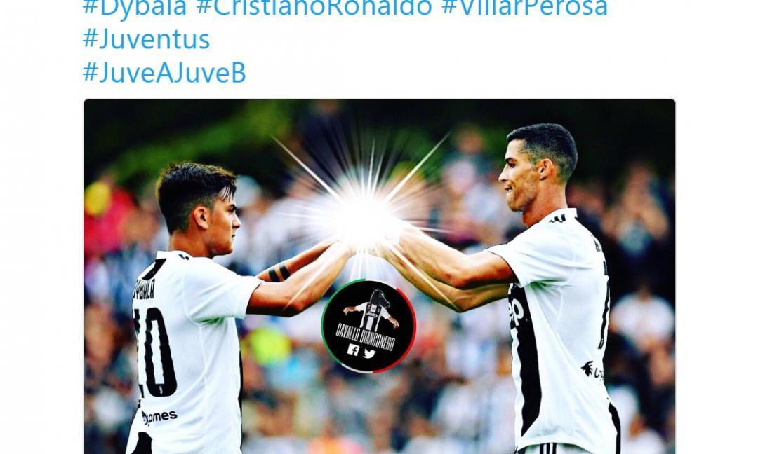 #VillarPerosa: i migliori 'meme' durante la festa juventina GALLERY