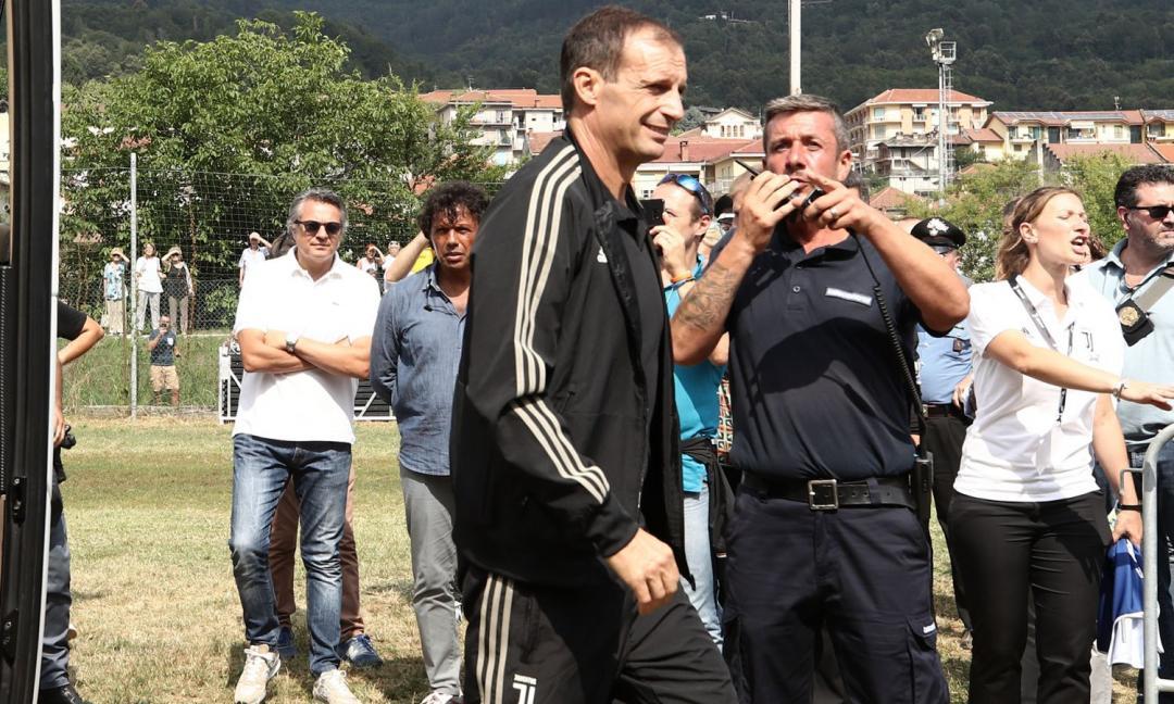 Allegri: 'Puntiamo a vincere la Champions, Ronaldo porta stimoli'