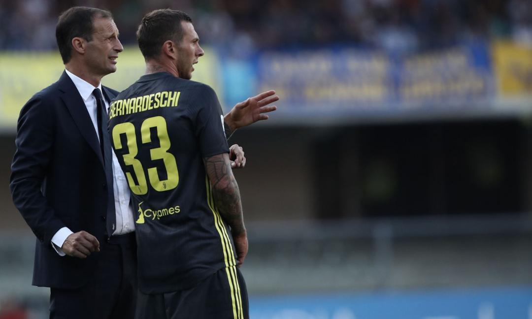 Juve in campo: da Khedira a Bernardeschi, i segnali verso il Milan