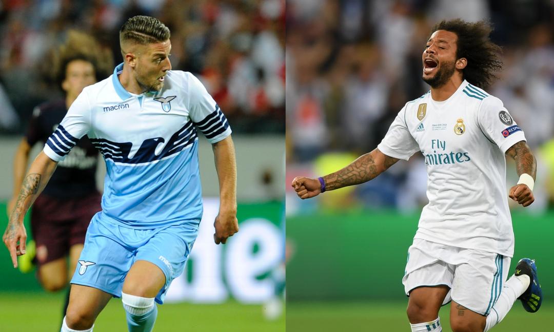 Juve, le condizioni per Marcelo e Milinkovic-Savic