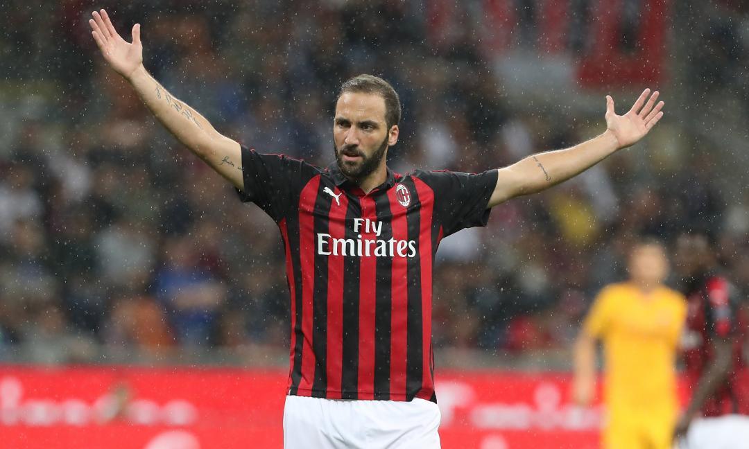Higuain recuperato: gli indizi dall'allenamento del Milan