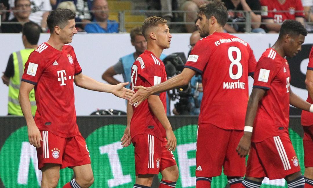 Tripletta di Lewa, un ex Juve e Thiago: Bayern a valanga in Supercoppa!