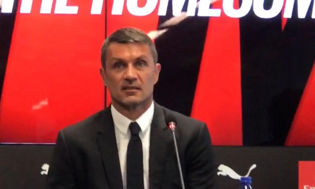 Maldini: 'Milan, per tornare al top ci vuole tempo'