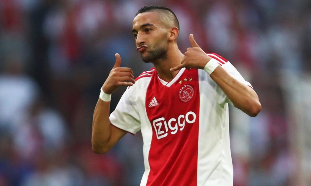 Ajax, Ziyech: 'Juve? Felice! Voglio affrontare sempre i top'