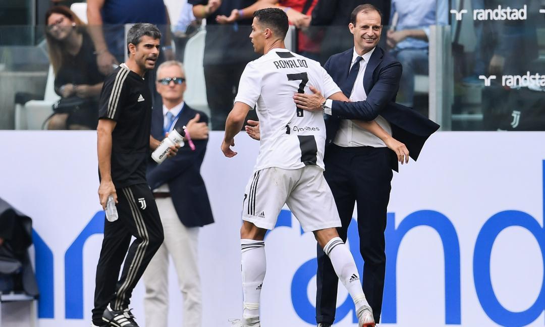 Juve-Inter, Ronaldo interrompe una striscia record