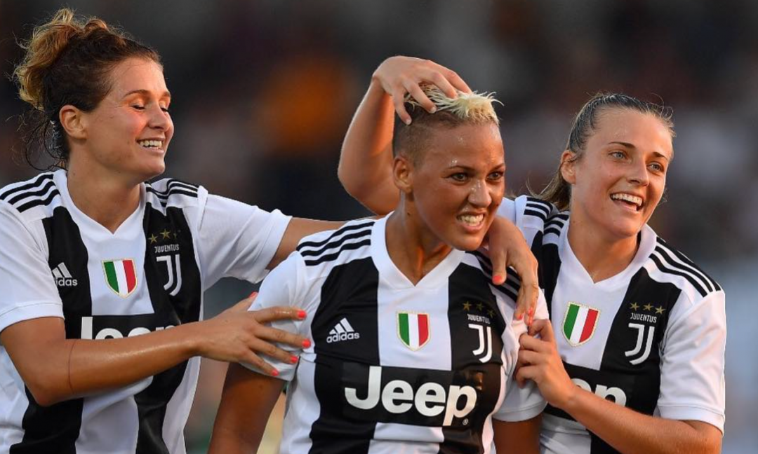 Supercoppa, carica Juve Women nel VIDEO su Twitter
