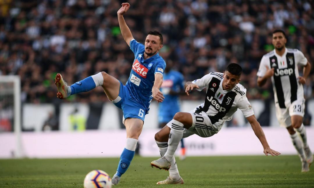 Napoli, Mario Rui rischia la Juve: le sue condizioni