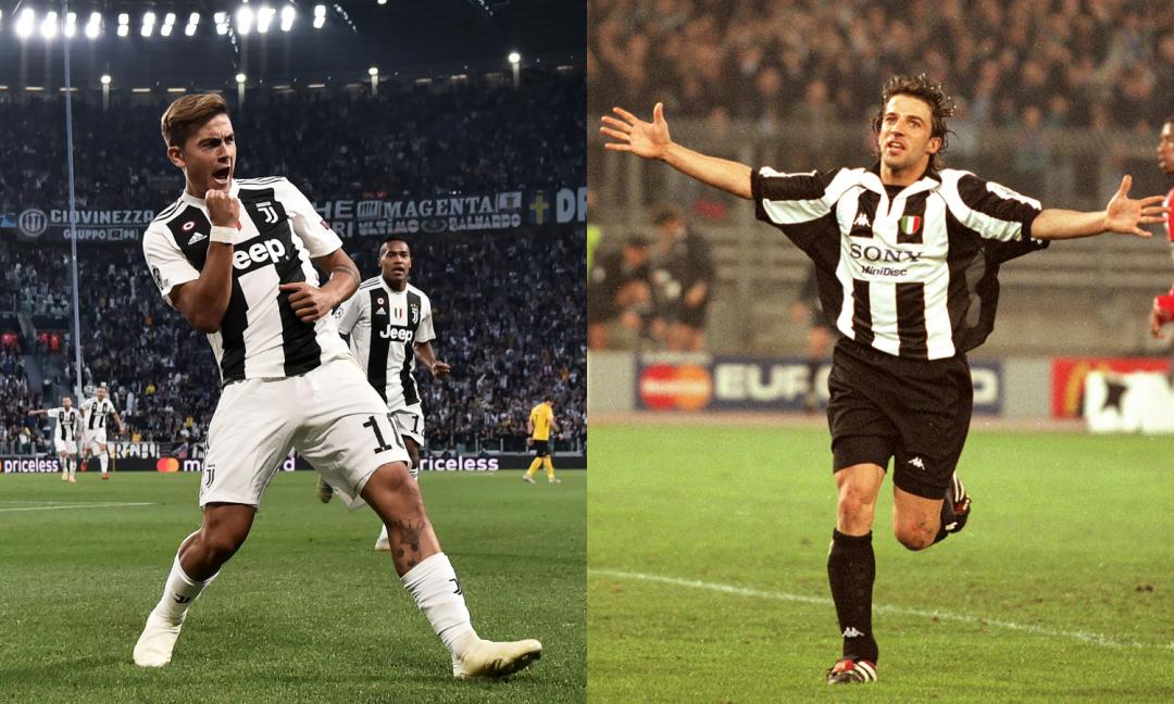 10 e capitano in Champions, Dybala 'come' Del Piero: le 10 migliori partite