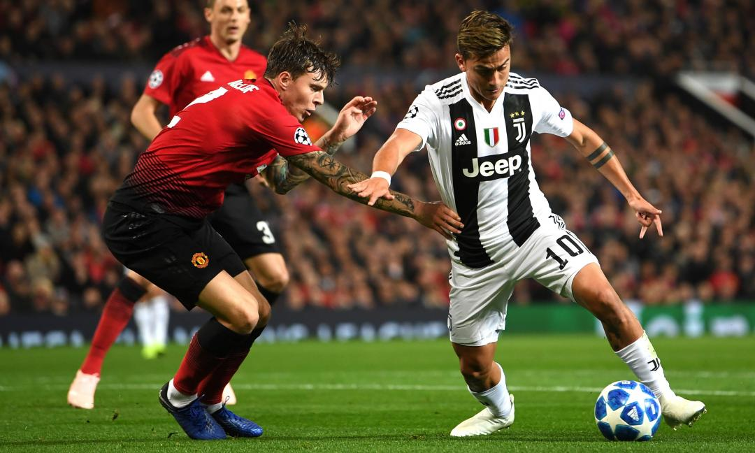 La Juve ricorda l'ultima notte all'Old Trafford: un messaggio a Pogba? VIDEO