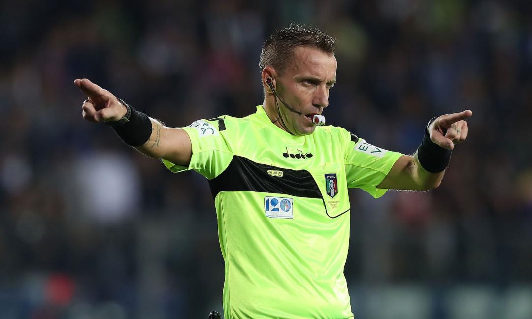 Mazzoleni 'aiuta' il Napoli: due giocatori out con gli azzurri
